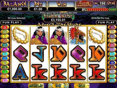 Aztecs Treasure - Feature Guarantee Game Preview
