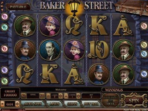 Baker Street Slot Machine