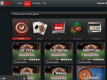 Ball2Win Casino Homepage Preview