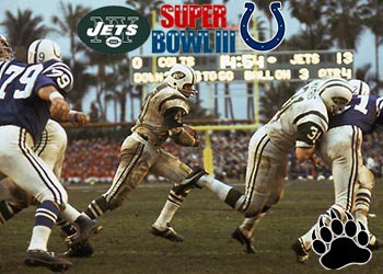Baltimore Colts vs New York Jets - Super Bowl III