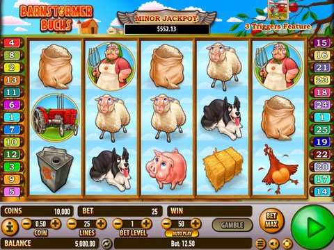 Barnstormer Bucks Slot Machine Demo