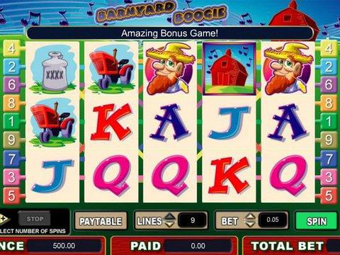 Barnyard Boogie Slot Machine