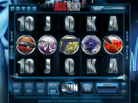 Realistic Fun in No Download Basic Instinct Slots