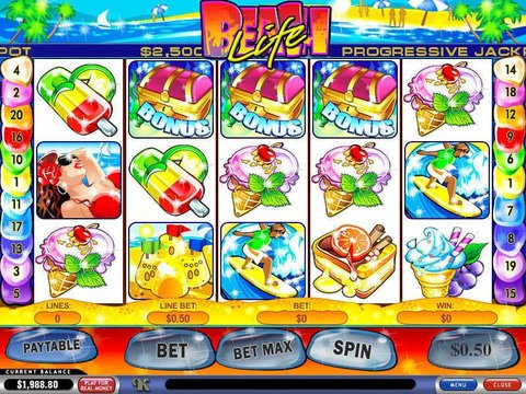 Beach Life No Download Canadian Slot Review