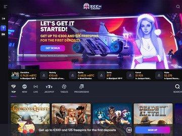 BeemCasino Homepage Preview