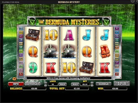 Bermuda Mystery Game Preview
