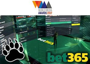 bet365 sports book world media award
