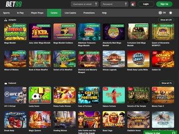 Bet99 Casino Software Preview
