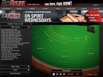Betonline Casino Software Preview