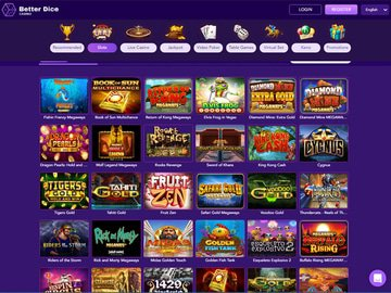 Better Dice Casino Software Preview