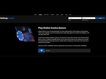 Betway Casino Software Preview