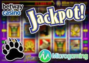 microgaming slot casino betway jackpot