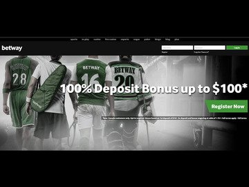 Betway Sports Homepage Preview
