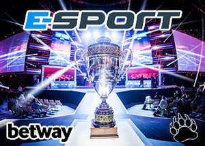Betway to sponsor three eSports competitions this year