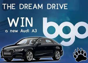 Win an Audi A3 in the Dream Drive Contest at bgo Casino