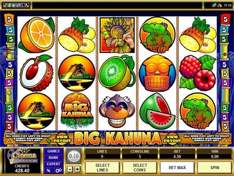 Big Kahuna Game Preview