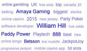 Top 10 Online Gambling Companies 2015