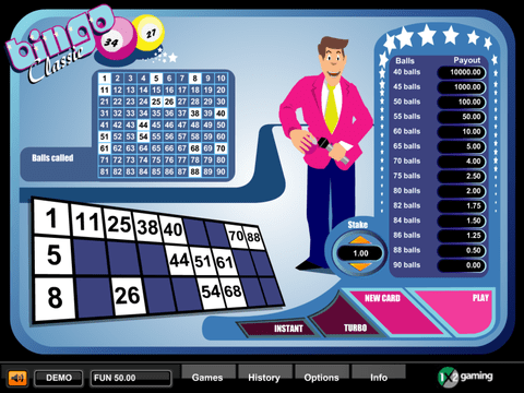 Play Bingo Classic From 1x2 With No Download