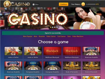 Bit Casino Software Preview