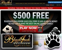 Blackjack Ballroom Casino Free Spins Ballroom No Deposit Bonus