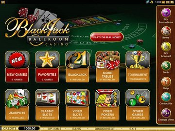 Blackjack Ballroom Casino Software Preview