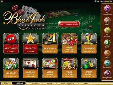 Blackjack Ballroom Casino Software Preview