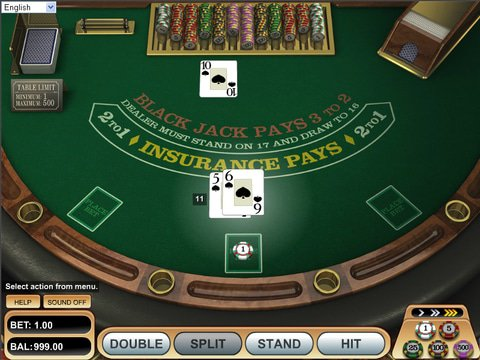 European Blackjack Game Preview
