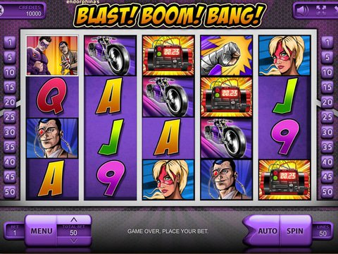 Try The Blast! Boom! Bang! Slots With No Download