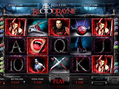 BloodRayne Game Preview