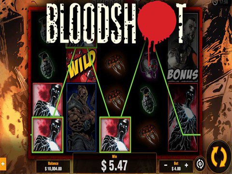 Bloodshot Slot Machine
