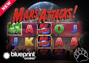 Blueprint Gaming New Mars Attacks! Slot