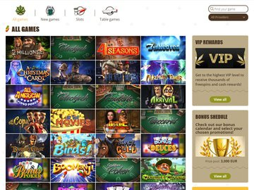 Bob Casino Software Preview