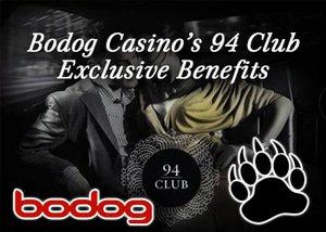 exciting bonus benefits at bodog's 94 club