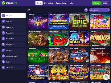 Bongo Casino Software Preview