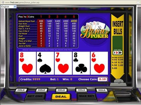 Bonus Poker Game Preview