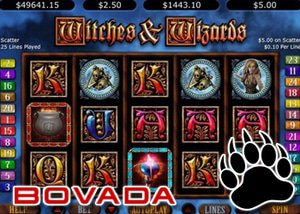 Bovada's Witches & Wizards Progressive Win