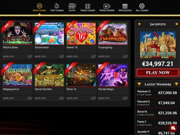 Bovegas Casino Software Preview