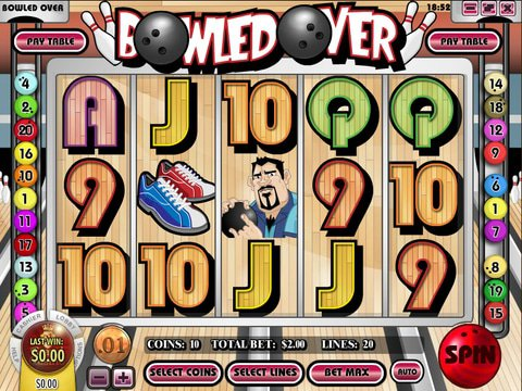Play the No Download Bowled Over Slots Today