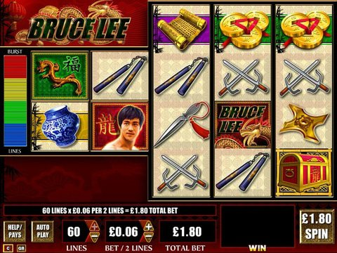 Bruce Lee Slots Machine