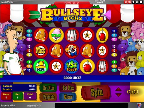 Youngstown bullseye bucks amaya casino slots entertainment era