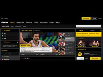 Bwin Homepage Preview