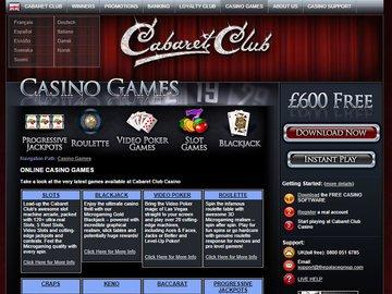 Cabaret club casino no deposit bonus can you really win at slot machines