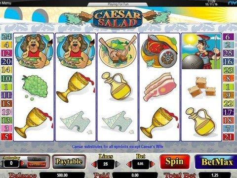 Caesar Salad Game Preview