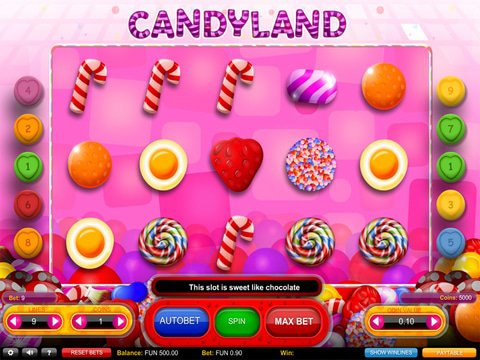 Candyland Game Preview