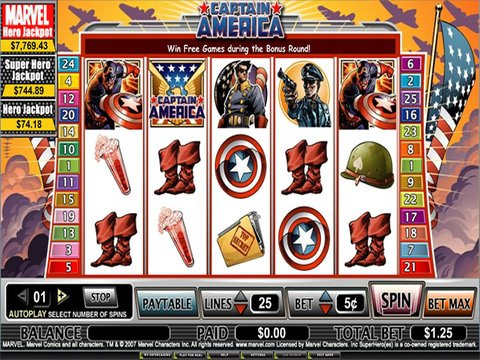Captain America Game Preview