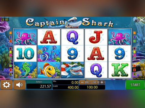 Captain Shark Game Preview