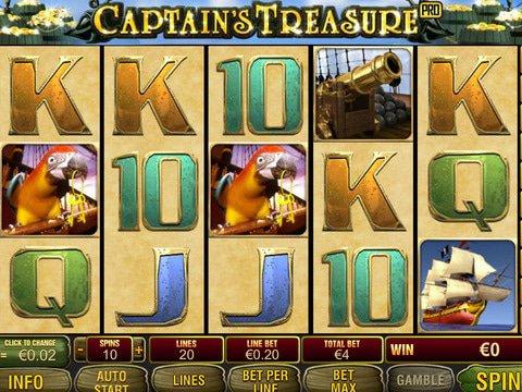 Slot captain treasure