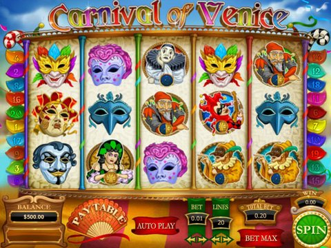 Carnival of Venice Game Preview
