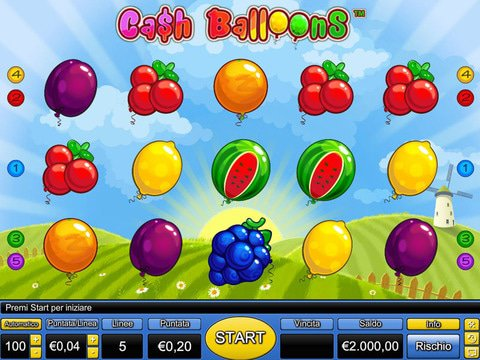 Cash Balloons Game Preview