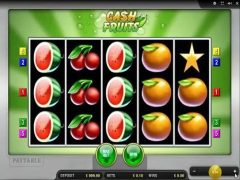 Cash Fruits Plus Game Preview